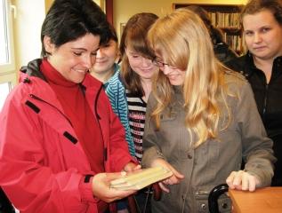 Specjalny Ośrodek Wychowawczy - Z wizytą w Miejskiej Bibliotece Publicznej w Łukowie