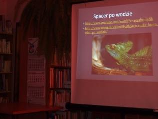 Specjalny Ośrodek Wychowawczy - Spotkanie w Bibliotece. Natura- natchnieniem wynalazców.