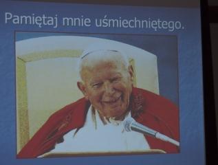 Specjalny Ośrodek Wychowawczy - Wspomnienia o Janie Pawle II