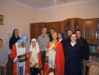 Specjalny Ośrodek Wychowawczy - Mędrcy ze Wschodu w poszukiwaniu Nowonarodzonego