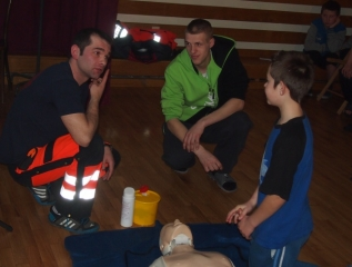 Specjalny Ośrodek Wychowawczy - Spotkanie z Ratownikiem Medycznym
