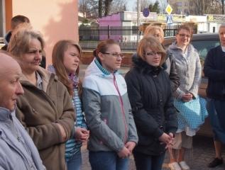 Specjalny Ośrodek Wychowawczy - Poświęcenie Kapliczki