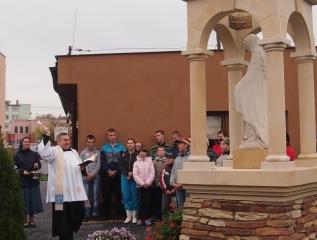 Specjalny Ośrodek Wychowawczy - Poświęcenie Kapliczki Matki Bożej