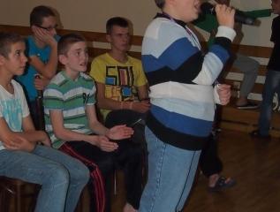 Specjalny Ośrodek Wychowawczy - Popisy wokalne w Ośrodku