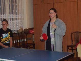 Specjalny Ośrodek Wychowawczy - Turniej tenisa stołowego