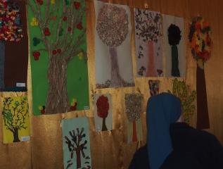 Specjalny Ośrodek Wychowawczy - Konkurs plastyczny-jesienne drzewo