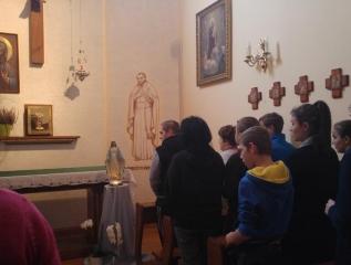 Specjalny Ośrodek Wychowawczy - Październik miesiącem modlitwy różańcowej