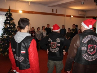 Specjalny Ośrodek Wychowawczy - Spotkanie z członkami Stowarzyszenia Motocyklowego Bears Riders