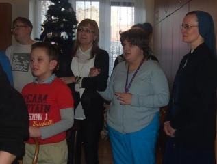 Specjalny Ośrodek Wychowawczy - Wizyta Duszpasterska w  Ośrodku