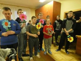 Specjalny Ośrodek Wychowawczy - Kwiaty dla kobiet dużych i małych
