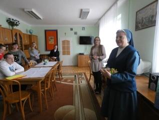 Specjalny Ośrodek Wychowawczy - Składamy życzenia Siostrze Dyrektor