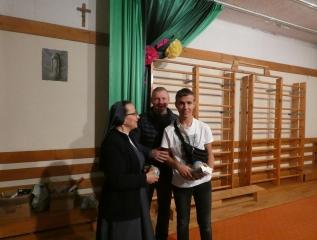 Specjalny Ośrodek Wychowawczy - Wręczenie nagród dla najlepszych piłkarzy