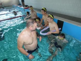 Specjalny Ośrodek Wychowawczy - Rozpoczynamy naukę pływania