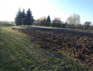 Specjalny Ośrodek Wychowawczy - Zakładamy profesjonalne boisko piłkarskie