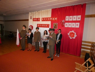 Specjalny Ośrodek Wychowawczy - Tobie śpiewam Polsko- setna rocznica odzyskania przez Polskę niepodległości
