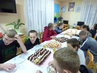 Specjalny Ośrodek Wychowawczy - Imprezka urodzinowa